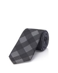 HUGO | Black 'tie 6 Cm' | Slim, Silk Tie for Men | Lyst