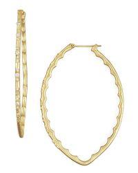 Armenta - Metallic Hoop Earrings - Lyst