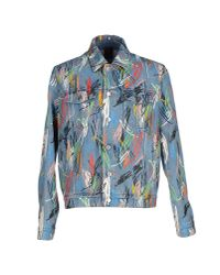 Dior Homme - Blue Denim Outerwear for Men - Lyst