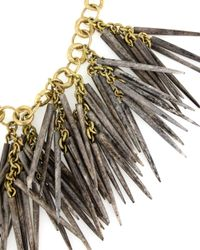 Ashley Pittman | Metallic Kura Necklace in Grey Bone | Lyst