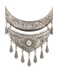 Natalie B. Jewelry - Metallic Protector Necklace - Lyst