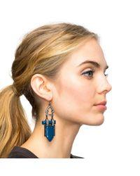 Lulu Frost - Blue Hypnotic Earring - Lyst