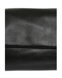 The Row - Black Small Flap Bag - Lyst