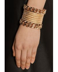 Givenchy - Metallic Armadillo Rose Gold-Plated Cuff - Lyst