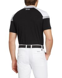 BOSS Green | Black Regular Fit Golf Polo Shirt 'paddy Pro 1' With Moisture Manager for Men | Lyst