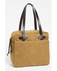 Filson | Brown Canvas Tote Bag for Men | Lyst