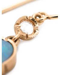 Irene Neuwirth | Blue 18kt Rose Gold Opal Drop Earrings | Lyst