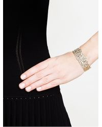 Natasha Collis | Metallic Cobbled Silver Small Cuff | Lyst