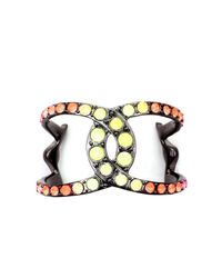 Lulu Frost | Multicolor Hand Painted Equine Cuff | Lyst