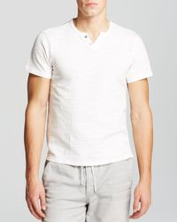 Joe's Jeans - White Knit Henley - Bloomingdale's Exclusive for Men - Lyst
