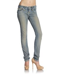 True Religion | Blue Julie Super T Jeans | Lyst