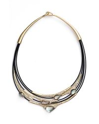 Alexis Bittar | Metallic Multistrand Cable Necklace | Lyst