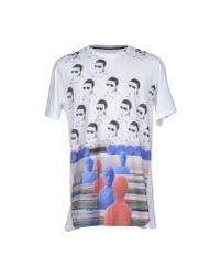 Antonio Marras - Blue T-shirt for Men - Lyst