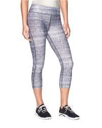 Under Armour | Gray Heatgear Alphs Compression Capri Pants | Lyst