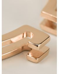 Vita Fede - Pink Mini Omega Bracelet - Lyst