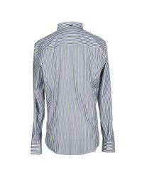 Bikkembergs | Blue Shirt for Men | Lyst