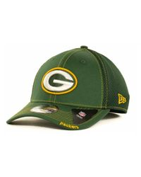 KTZ - Green Bay Packers Neo 39Thirty Cap for Men - Lyst