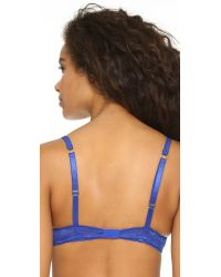 Stella McCartney | Blue Camille Dashing Demi Bra | Lyst