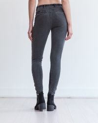 Marrakech | Gray Ramone Mixed Fabric Legging | Lyst