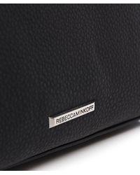Rebecca Minkoff | Black Micro Moto Satchel Bag | Lyst