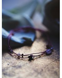 Free People - Pink Gem Remedy Bracelet - Lyst