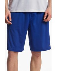 Nike - Blue 'fly 2.0' Dri-fit Knit Training Shorts for Men - Lyst