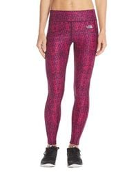 The North Face - Pink Pulse Compression Tights - Lyst