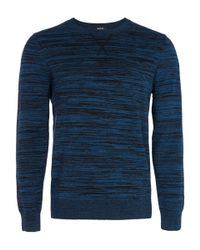 A.P.C. - Blue Astrodye Sweatshirt for Men - Lyst