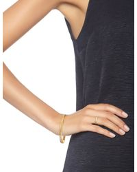 Carolina Bucci | Metallic Yellow Gold Sparkly Mirador Bangle | Lyst