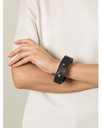 Rick Owens - Black Studded Bracelet for Men - Lyst