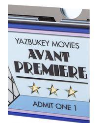 "Yazbukey | Blue ""avant Premiere"" Clutch | Lyst"