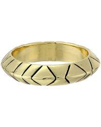 House of Harlow 1960 - Metallic Aztec Midi Ring - Lyst