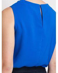 ROKSANDA - Blue Kenyan Drape Top - Lyst