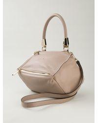 Givenchy | Natural Pandora Medium Calf-Leather Shoulder Bag | Lyst