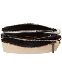 Elliott Lucca - Natural Sacha Triple Compartment Clutch - Lyst
