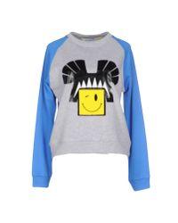 Leitmotiv | Blue Sweatshirt | Lyst