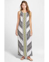 Rip Curl - White 'Gypsy Road' Maxi Dress - Lyst