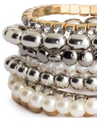 H&M | Metallic 8-pack Bracelets | Lyst