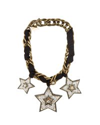 Lanvin | Metallic Altair Star Necklace | Lyst