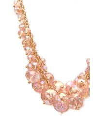 Forever 21 | Pink Rock Candy Necklace | Lyst