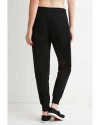 Forever 21 | Black Classic Drawstring Sweatpants | Lyst