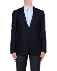 Prada - Blue Blazer for Men - Lyst