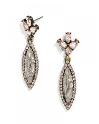 BaubleBar - Metallic Lightning Marquise Drops - Lyst