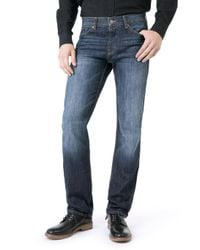 7 For All Mankind - Blue Standard New York Dark for Men - Lyst