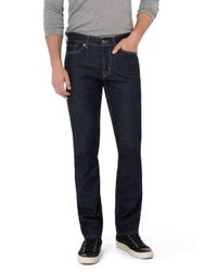 7 For All Mankind - Blue Slimmy New York Rinsed for Men - Lyst
