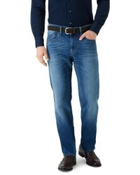 7 For All Mankind - Slimmy American Panorama Mid Blue for Men - Lyst