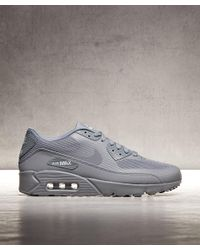 f92bf05e3f Lyst - Nike Air Max 90 Ultra 2.0 Essential Trainer in Gray for Men