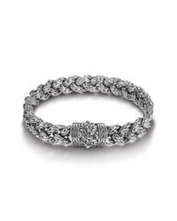 John Hardy | Metallic Small Braided Bracelet for Men | Lyst