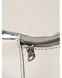 Isaac Reina - Metallic Zipped Beauty Case - Lyst
