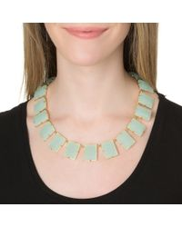 Lele Sadoughi | Green Ocean Necklace, Mint | Lyst